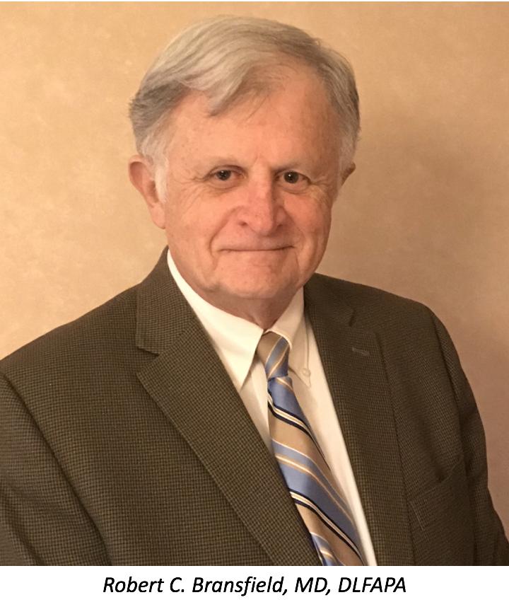 Robert C. Bransfield, MD, DLFAPA