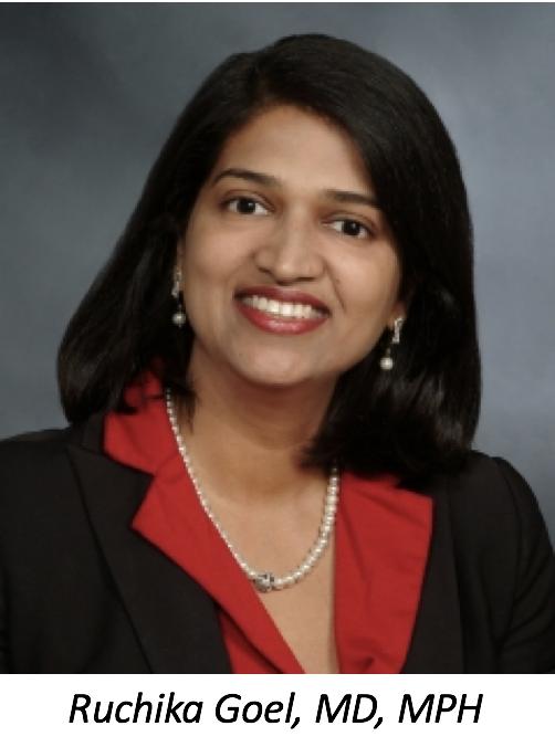 Ruchika Goel, MD, MPH