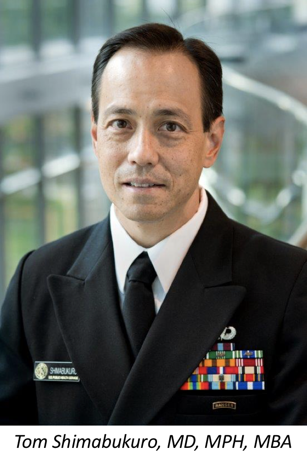 Tom Shimabukuro, MD, MPH, MBA