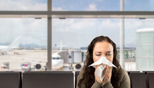 How Can the Flu Spread Inside an Airplane?