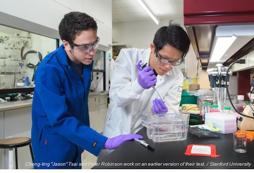 Stanford Investigators Are Building a Better HIV Test