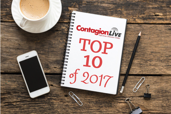 <i>Contagion</i>&reg's Top 10 Infectious Disease Articles of 2017