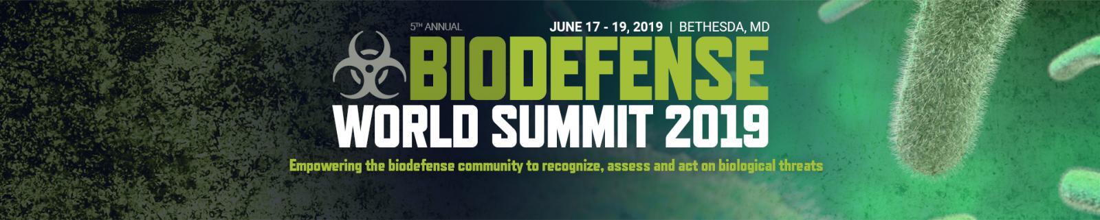 5th Annual Biodefense World Summit