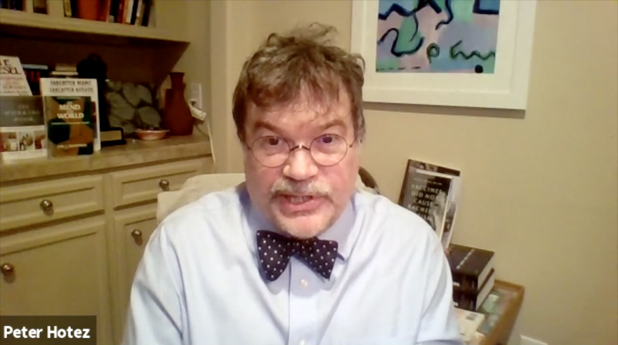 Peter Hotez Urges Against Overpromising Vaccine Timeline